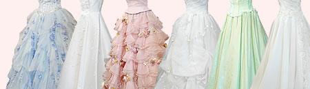 ウェディングドレス・カラードレスのリサイクルショップ